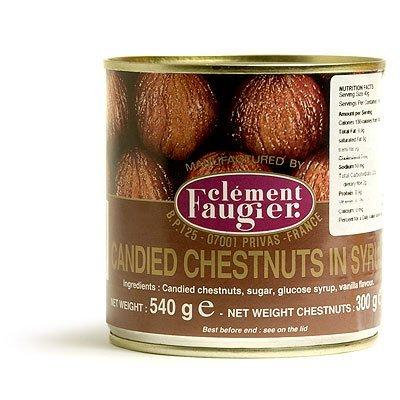 Clement Faugier Candied Chestnut in Syrup - 19 oz.