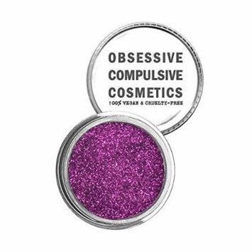 Obsessive Compulsive Cosmetics Face & Body Cosmetic Glitter, Magenta, 0.08 Ounce