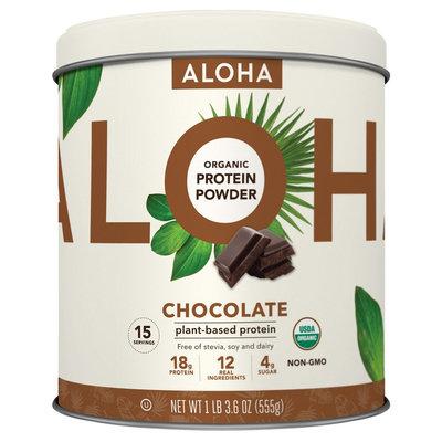 Aloha Protein Tin - Chocolate - 1.14 lb