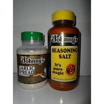 Johnny's Seasoning Salt & Garlic Spread Set