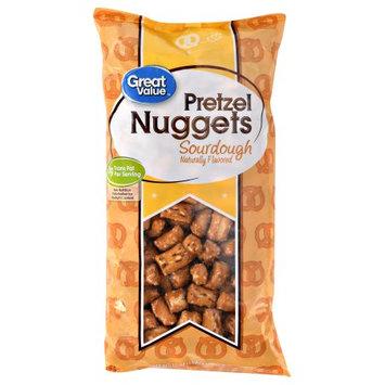Great Value Pretzel Nuggets, Sourdough, 16 oz