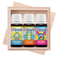 Plant Therapy Lil' Stinkers Plush Animal KidSafe Signature Blend Essential Oil Set 10 mL (1/3 fl. oz.) each, 100% Pure, Undiluted, Therapeutic Grade