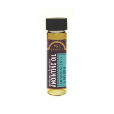 B & H Publishing Group 189207 Anointing Oil-Frankincense And Myrrh 0.5 oz.