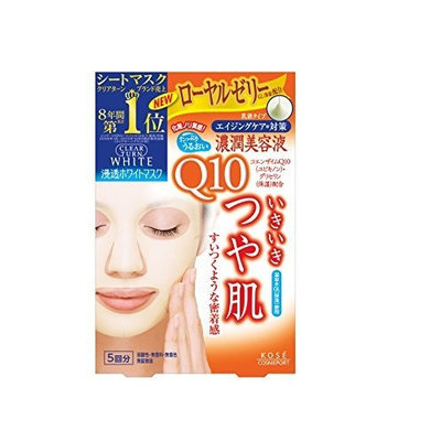 Kose Clear Turn White Coenzyme Q10 Paper Facial Mask