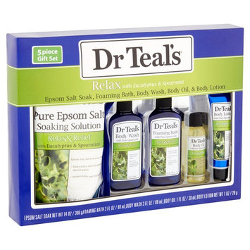 Dr Teal's Relax with Eucalyptus & Spearmint Gift Set, 5 piece