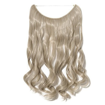 Stylish Hair Extensions Curly Wavy Hair Extension Synthetic Women Hairpieces 20