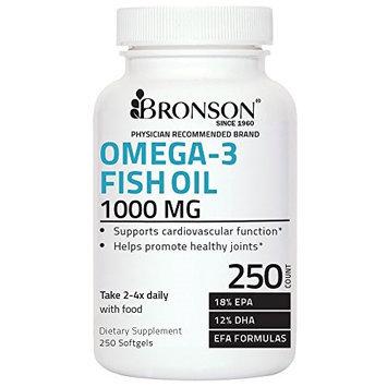 Bronson Vitamins Omega-3 Fish Oil 1000 mg
