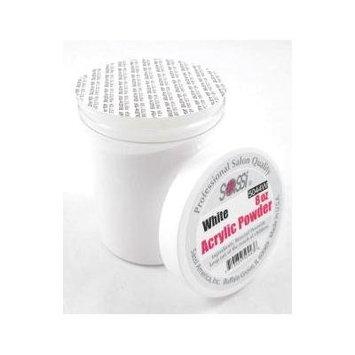 Sassi Acrylic Powder Professional Salon Quality 8oz White, Strengthens nail, nail beauty, nail polish, nail art, decorate your nails, cosmetics, nail powder,
