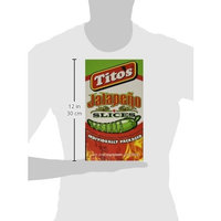 Texas Tito's Display Box of Individual Sliced Jalapeno Packages, 48 Count