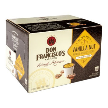 F. Gavi A & Sons, Inc. Don Francisco's Vanilla Nut, Medium Roast, Single-Serve Coffee, 100-Count