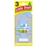 Little Trees 3-Pack Air Freshener Summer Linen, Grey