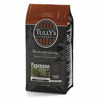 Tully's Espresso Roast, Whole Bean, 12oz. Bag