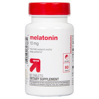 up & up Melatonin 10mg Tablets - 60 Count