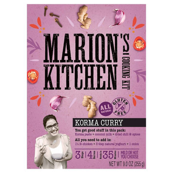 MARIONS KITCHEN MEAL KIT CURRY KORMA-9 OZ -Pack of 5