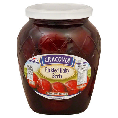 Kehe Distributors CRACOVIA 47702 CRACOVIA BEETS BABY PICKLED - Case of 12 - 23.99 OZ