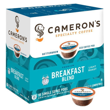 Cameron's Coffee Cameron's Breakfast Blend Single Cups 18ct
