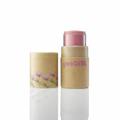 geoGiRL KOC (Kissoncheek) Cream Blush, Eco Pink (Pack of 2)