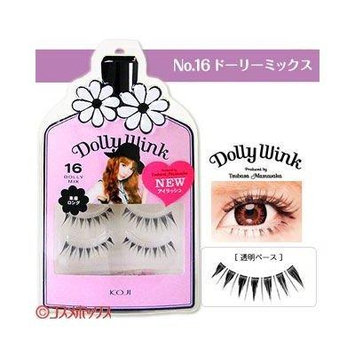 DOLLY WINK Koji False Eyelashes, No. 16 Dolly Mix