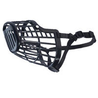 Guardian Gear Basket Dog Muzzle LG Black