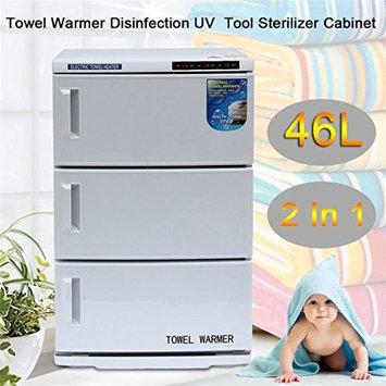 Belovedkai Combination 2 in 1 Hot Towel Warmer Cabinet and Sterilizer