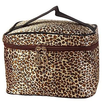 Multifunctional Makeup Cosmetic Storage Leopard Print Cosmetic Bags Women Travel Makeup Bag Make Up Bags