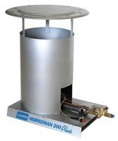 Lb White L.B. WHITE 900-320C Portable Gas Heater, LP,200000 BtuH