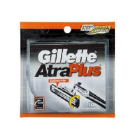 Gillette Atra Plus Refill Razor Blades 10 ct.