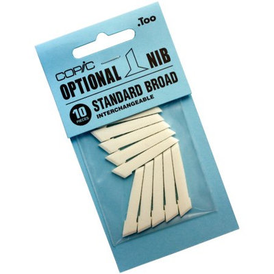 484388-Copic Original Standard Broad Nibs 10/Pkg