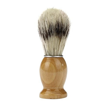 Dingji Professional ZY Barber Salon Shave Shaving Razor Brush Wood Handle Tool