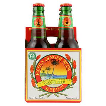 Reed's Ginger Beer Ginger Brew - Extra - Case of 6 - 12 Fl oz.