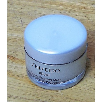 Shiseido Ibuki Beauty Sleeping Mask Travel .25 oz
