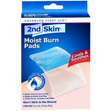 Spenco 2nd Skin Moist Burn Pads 3 x 4 Inch 6 Boxes (18 Pads) by Milliken Medical - MS46330