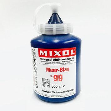 Mixol Universal Tints, Ocean Blue, #99, 500ml