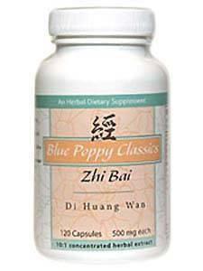 Zhi Bai Di Huang Wan 120 caps by Blue Poppy