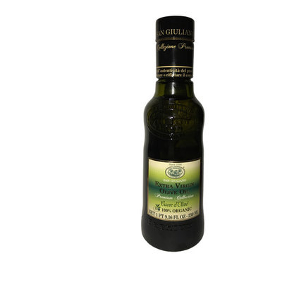 San Giuliano 100% Organic Premium Collection Extra Virgin Olive Oil 9.36 FL Oz.