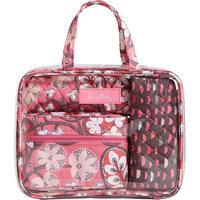 Vera Bradley 4 pc. Cosmetic Organizer in Blush Pink