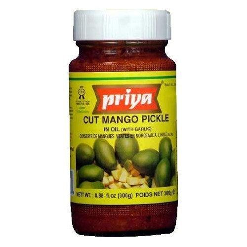 Priya Cut Mango Pickle 10.6 Oz