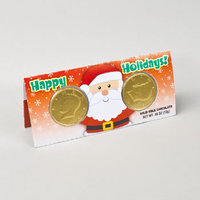 Dollaritemdirect CANDY HOLIDAY CASH CARD .46 OZ MILK CHOCOLATE IN COUNTER DSPL, Case Pack of 48