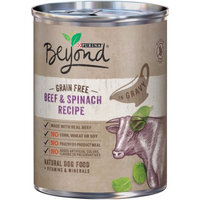 Purina Beyond Grain Free Beef & Spinach Recipe in Gravy Dog Food 12.5 oz. Can (Case of 12)