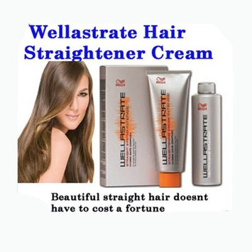 1 Box of Wella Strate Wellastrate Intense Straightener Straigthening Hair Cream 200ml.