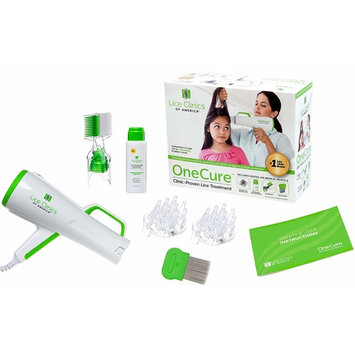 Lice Clinics of America OneCure Clinic-Proven Lice Treatment Kit (+1 Refill Tip Kit)