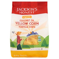 Jackson's Honest Jacksons Honest Chips, Chip Tortilla Yellow Corn Org, 10 Oz (Pack Of 9)