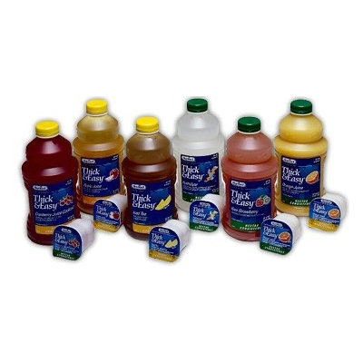 Thick & Easy Hydrolyte Thickened Water 4 oz. Portion Cup Lemon Ready to Use Honey CS/24 PK/8