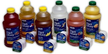 Thick & Easy Hydrolyte Thickened Water 4 oz. Portion Cup Lemon Ready to Use Honey CS/24 PK/4
