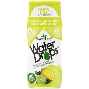 Sweetleaf Stevia SweetLeaf Water Drops Lemon Lime Stevia Water Enhancer, 2.1 fl oz, (Pack of 12)