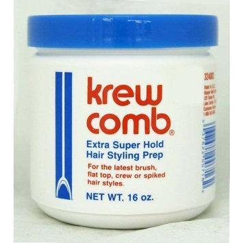 Krew Comb Medium Hold Hair Styling Prep 16 Ounces