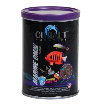 Cobalt Marine Omnivore Flake Fish Food 8oz