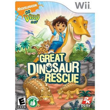Go Diego Go: Great Dinosaur Rescue Wii Game 2K GAMES