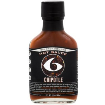 Chipotle Hot Sauce (3.5 Ounces Liquid) by 6 Pack Fitness at the Vitamin Shoppe
