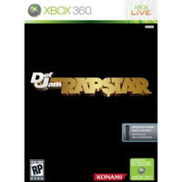 Konami Digital Entertainment Def Jam Rapstar Bundle Xbox 360 Game KONAMI
